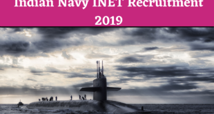 Indian Navy INET Recruitment 2019