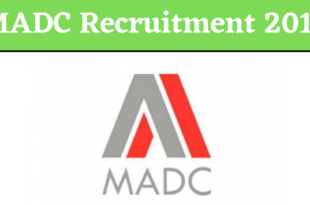 MADC Recruitment 2019