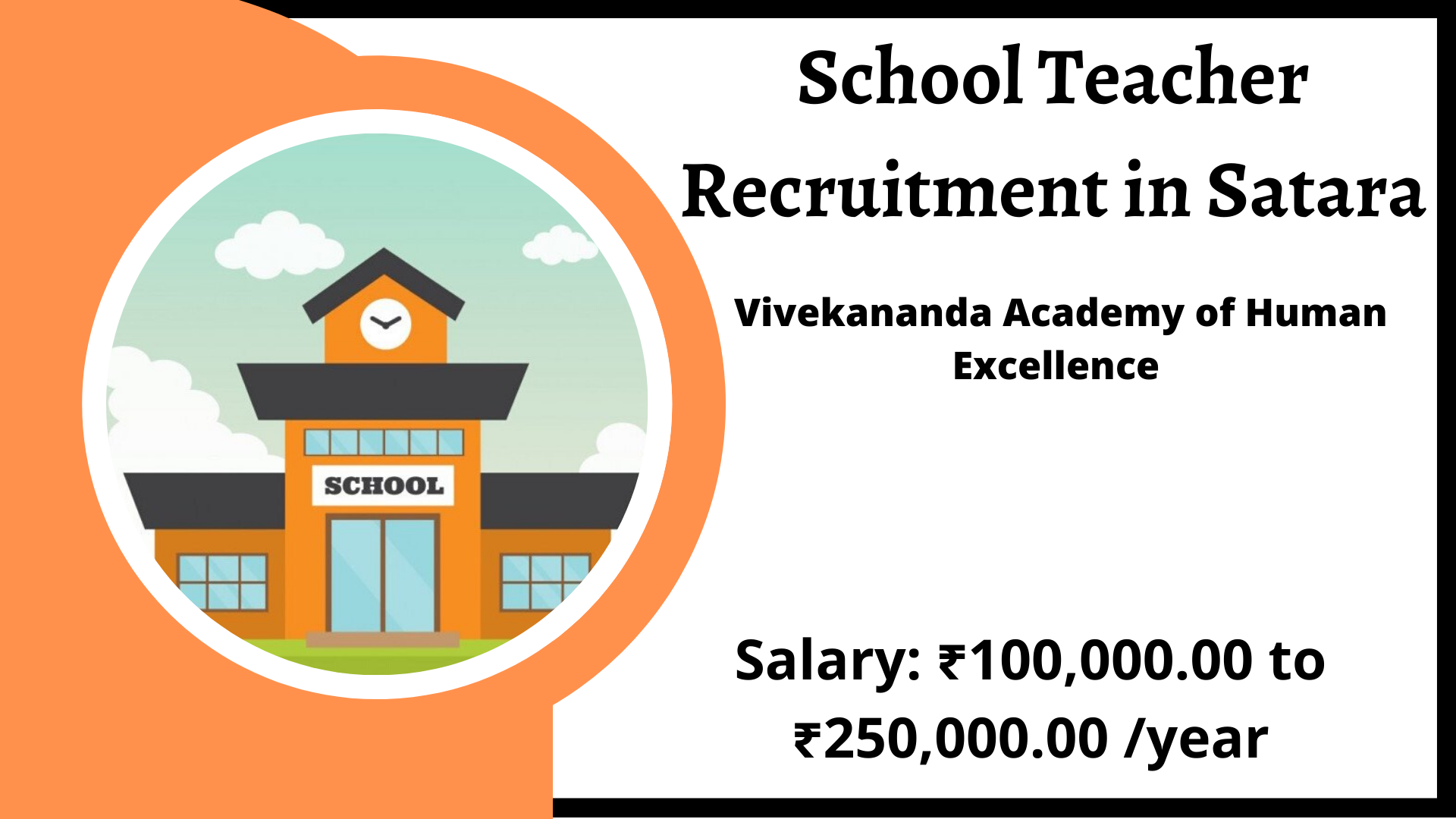 School Teacher Recruitment in Satara Jobs in Satara