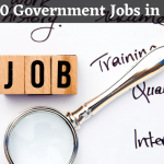 central government jobs for graduates | Government Jobs in India 2020