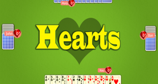 free hearts card game