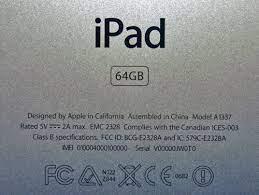 IPad Serial Number Lookup